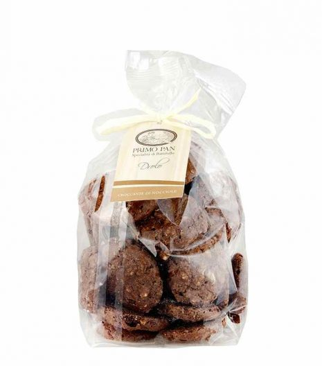 Primo Pan Drolo nocciole cacao Biscotti - Primo Pan Drolo hazelnuts cocoa Biscuits - Gustorotondo - Italian food boutique
