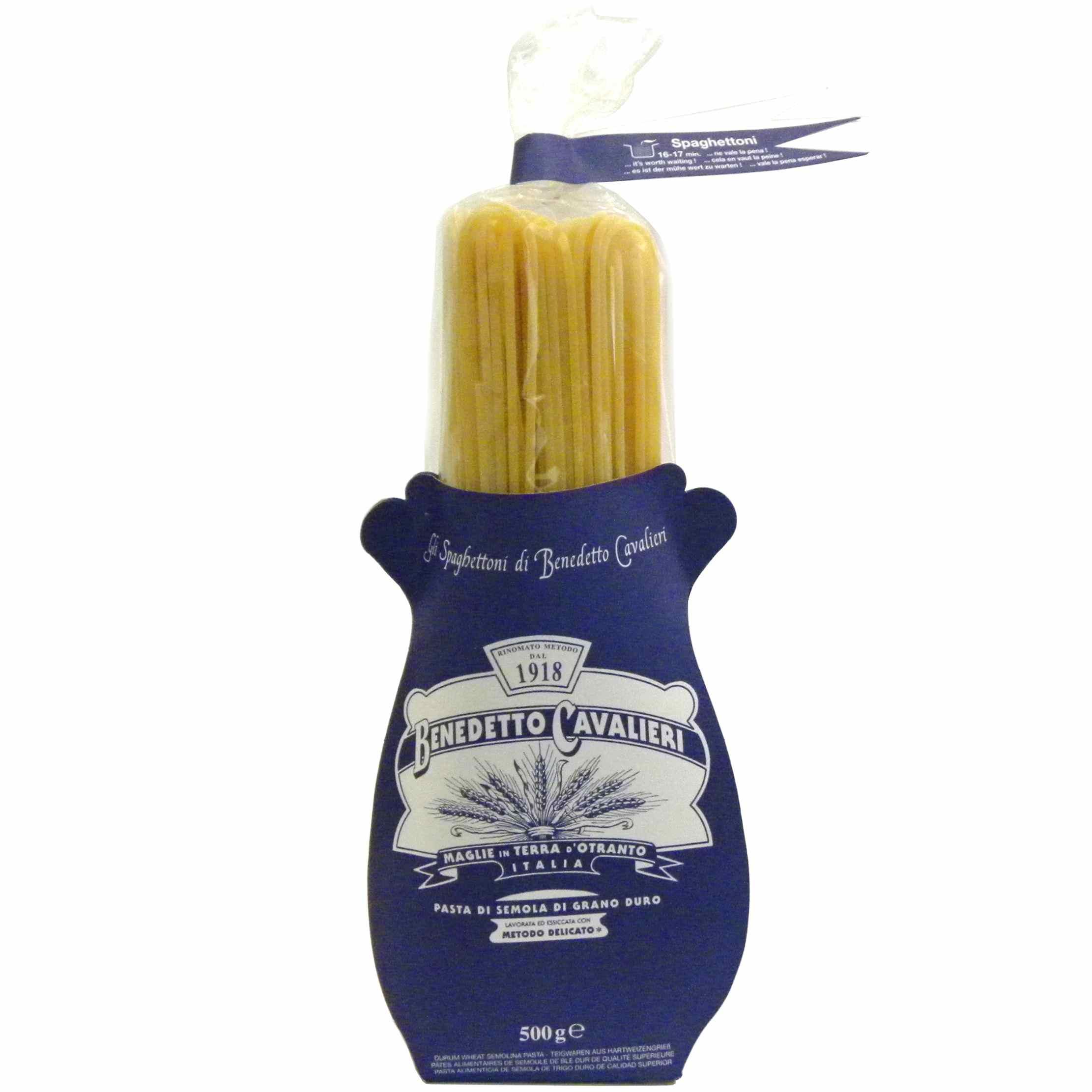 Benedetto Cavalieri Pasta Spaghettoni Gustorotondo – Italian food boutique