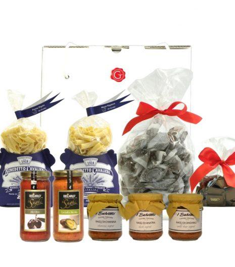 Gift Box Artisan Pasta Chocolate - Confezione Regalo Pasta Cioccolato Artigianale - Gustorotondo - Italian Food Boutique