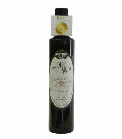 De Carlo Olio Extravergine Bio - De Carlo Organic Extra Virgin Olive Oil - Gustorotondo - Italian food boutique