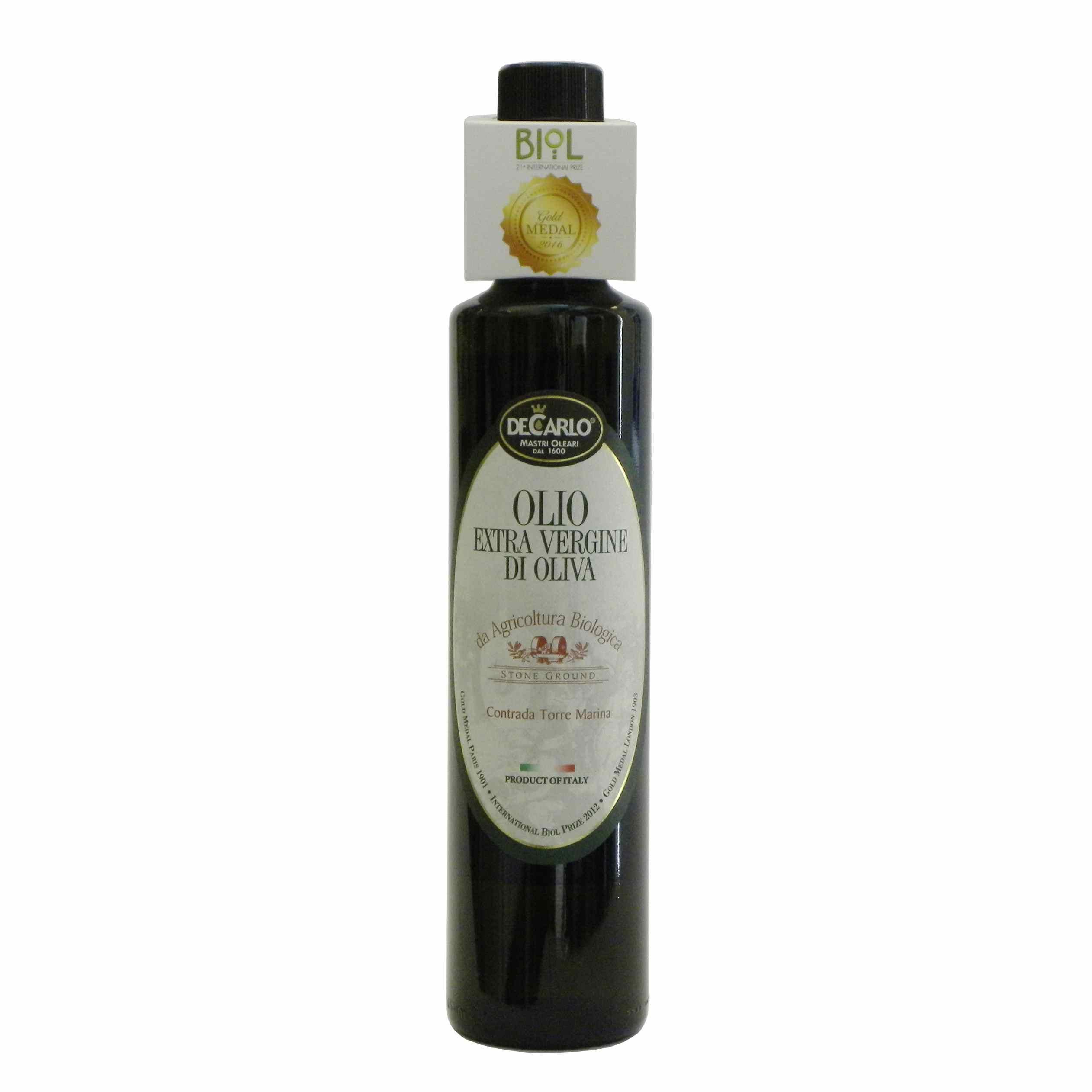 De Carlo Olio Extravergine Bio – De Carlo Organic Extra Virgin Olive Oil – Gustorotondo – Italian food boutique