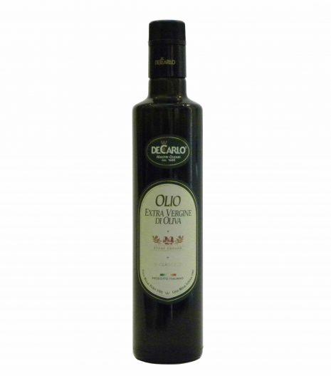 De Carlo Olio Extravergine Il Classico - De Carlo Il Classico Extra Virgin Olive Oil - Gustorotondo - Italian food boutique