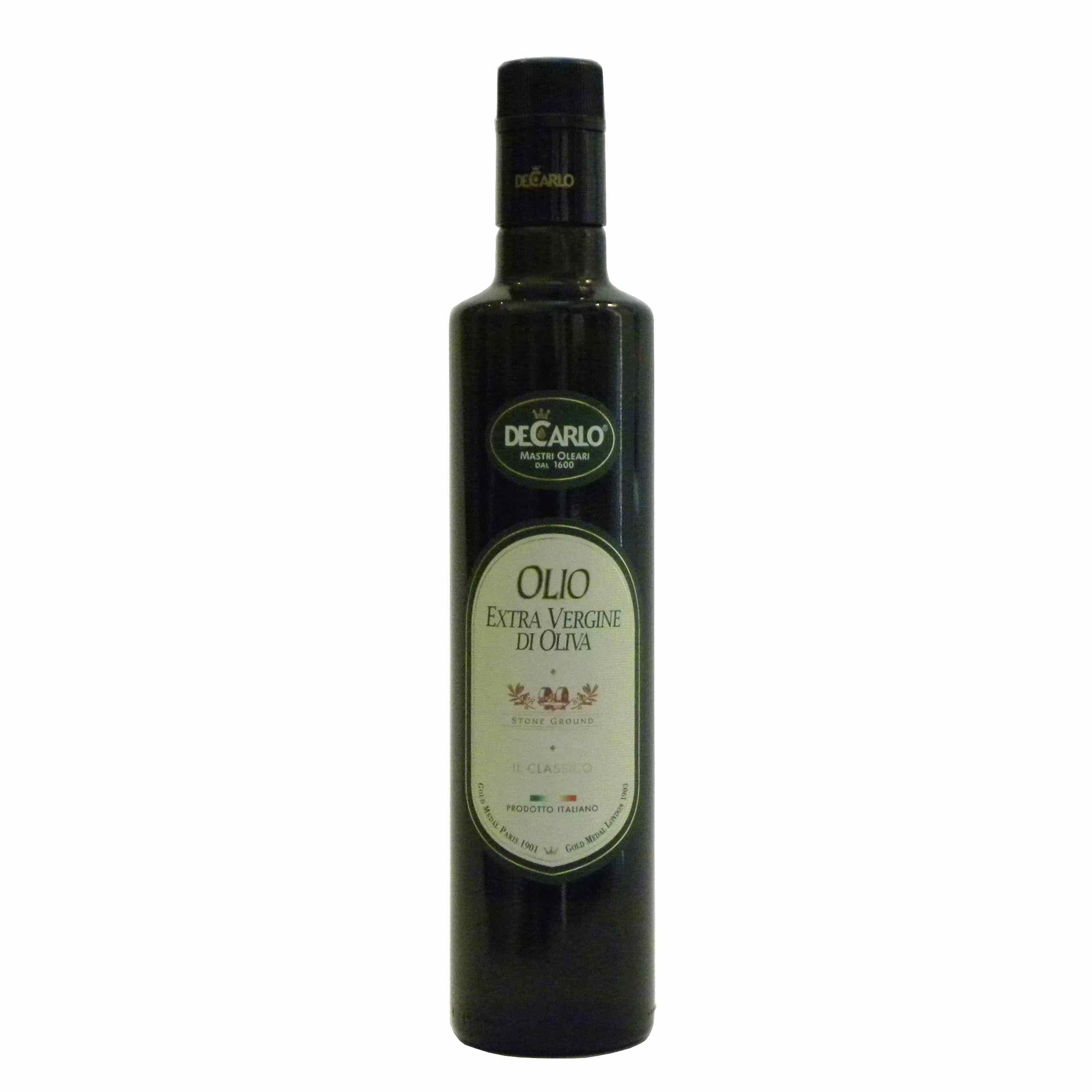 De Carlo Olio Extravergine Il Classico – De Carlo Il Classico Extra Virgin Olive Oil – Gustorotondo – Italian food boutique