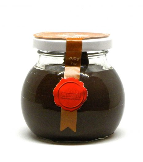 Giraudi Giacometta fondente 200 g - Giraudi Giacometta dark chocolate spread - Gustorotondo - Italian food boutique-fondente-dark-chocolate-gianduia-spread-200-g-01