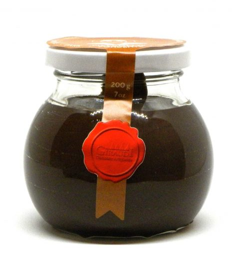 Giraudi Giacometta fondente 200 g - Giraudi Giacometta dark chocolate spread - Gustorotondo - Italian food boutique
