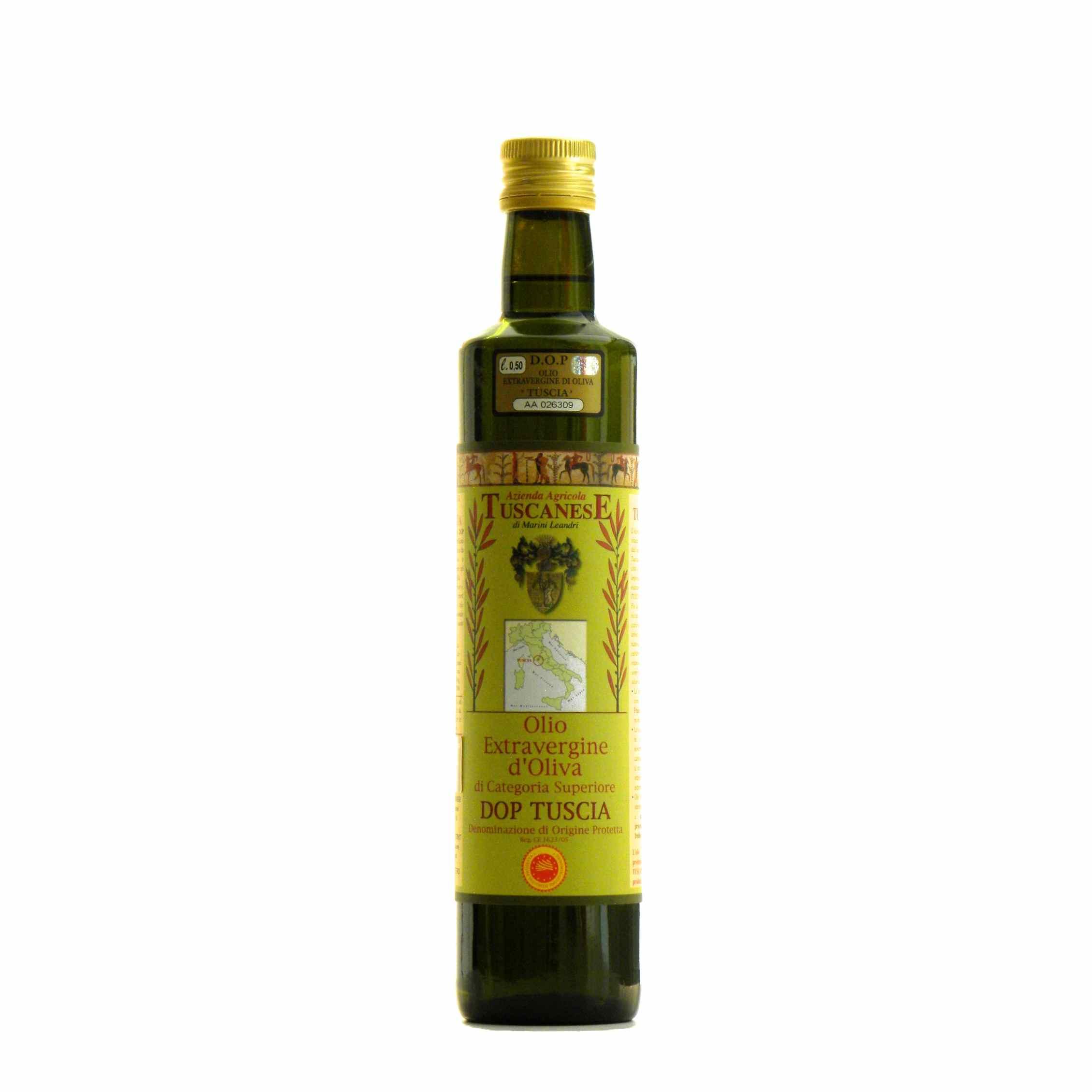 Tuscanese Olio Extravergine di oliva – Tuscanese Extra Virgin Olive Oil – Gustorotondo – Italian food boutique