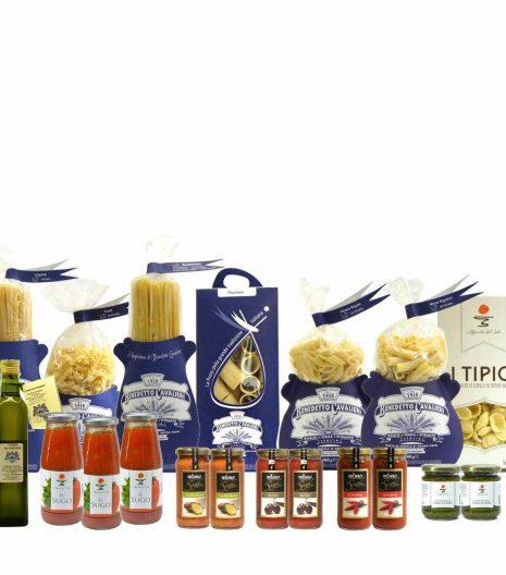 Dispensa Pasta Cavalieri Sughi Olio Extravergine - Pantry Cavalieri Pasta Sauces EVO Oil - Gustorotondo - Italian Food Boutique