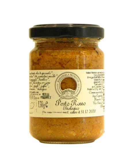 Pesto Rosso Bio Prunotto - Prunotto Red Pesto - Gustorotondo - Italian Food Boutique