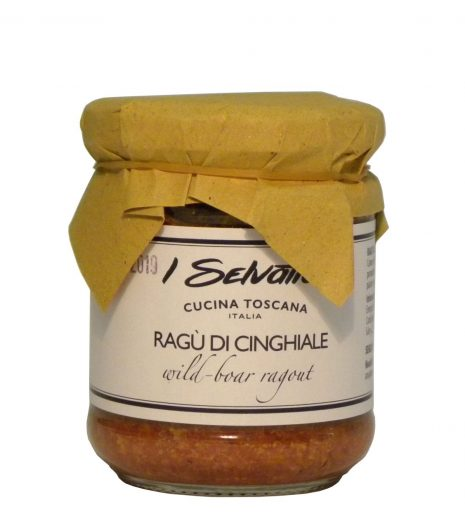 Ragù cinghiale Toscana - Tuscany wild boar ragù - Gustorotondo - Italian Food Boutique