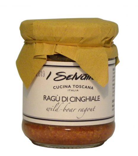 Ragù cinghiale - Wild boar ragù - Gustorotondo - Italian Food Boutique