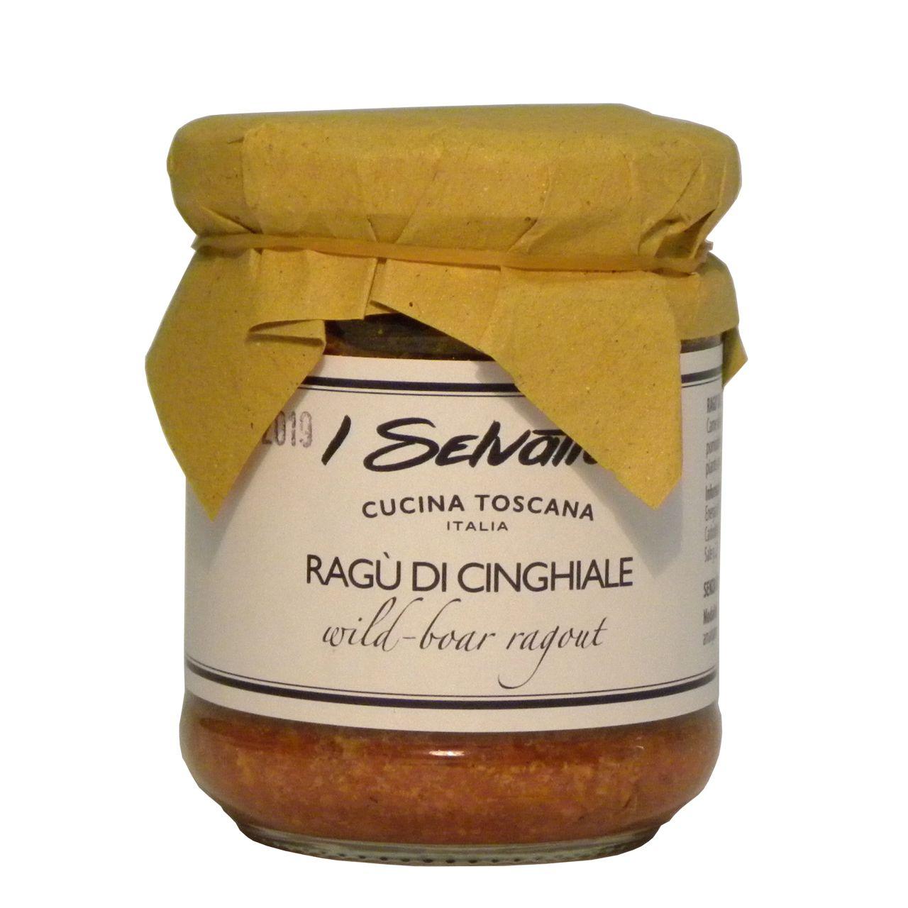 Ragù cinghiale – Wild boar ragù – Gustorotondo – Italian Food Boutique