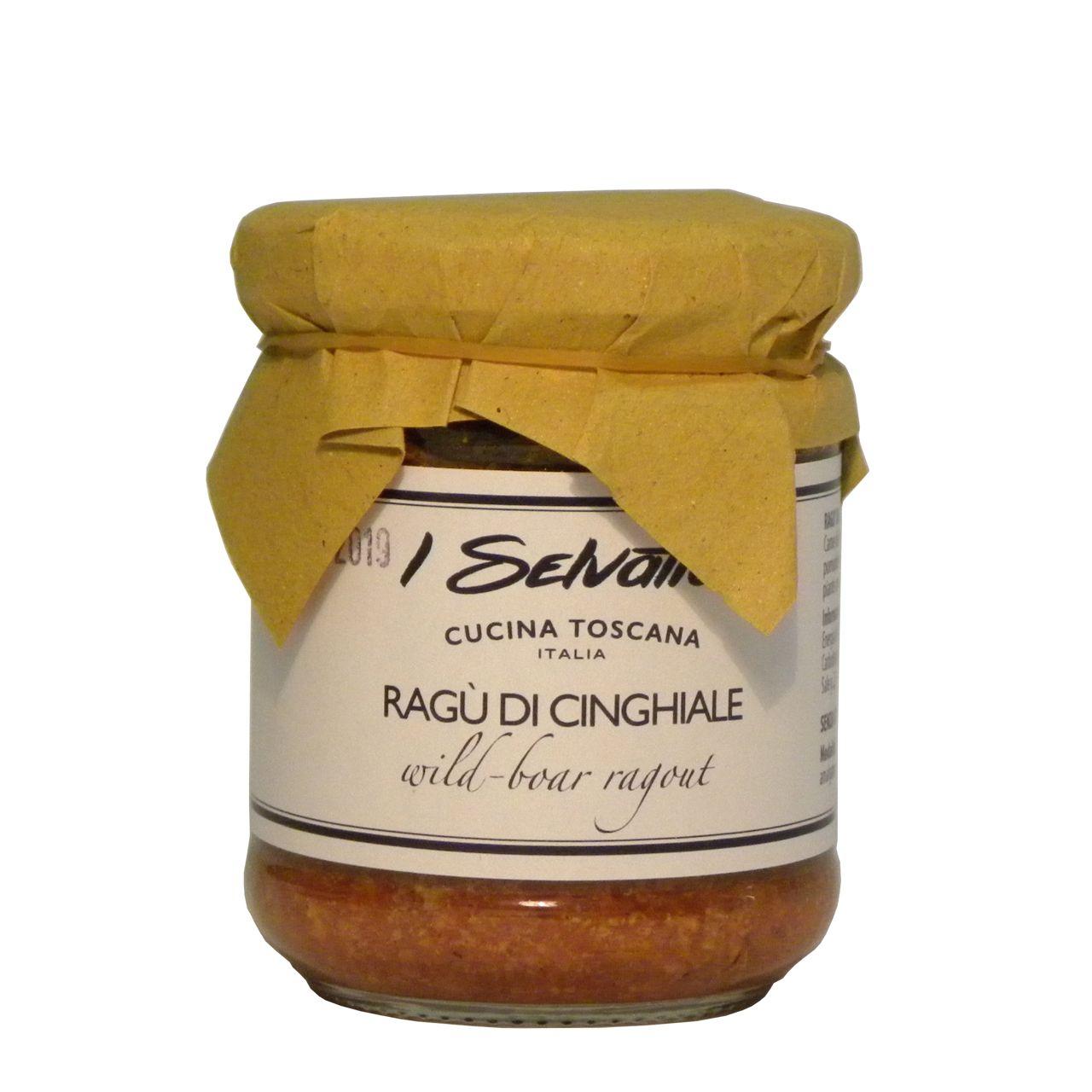 Ragù cinghiale Toscana – Tuscany wild boar ragù – Gustorotondo – Italian Food Boutique