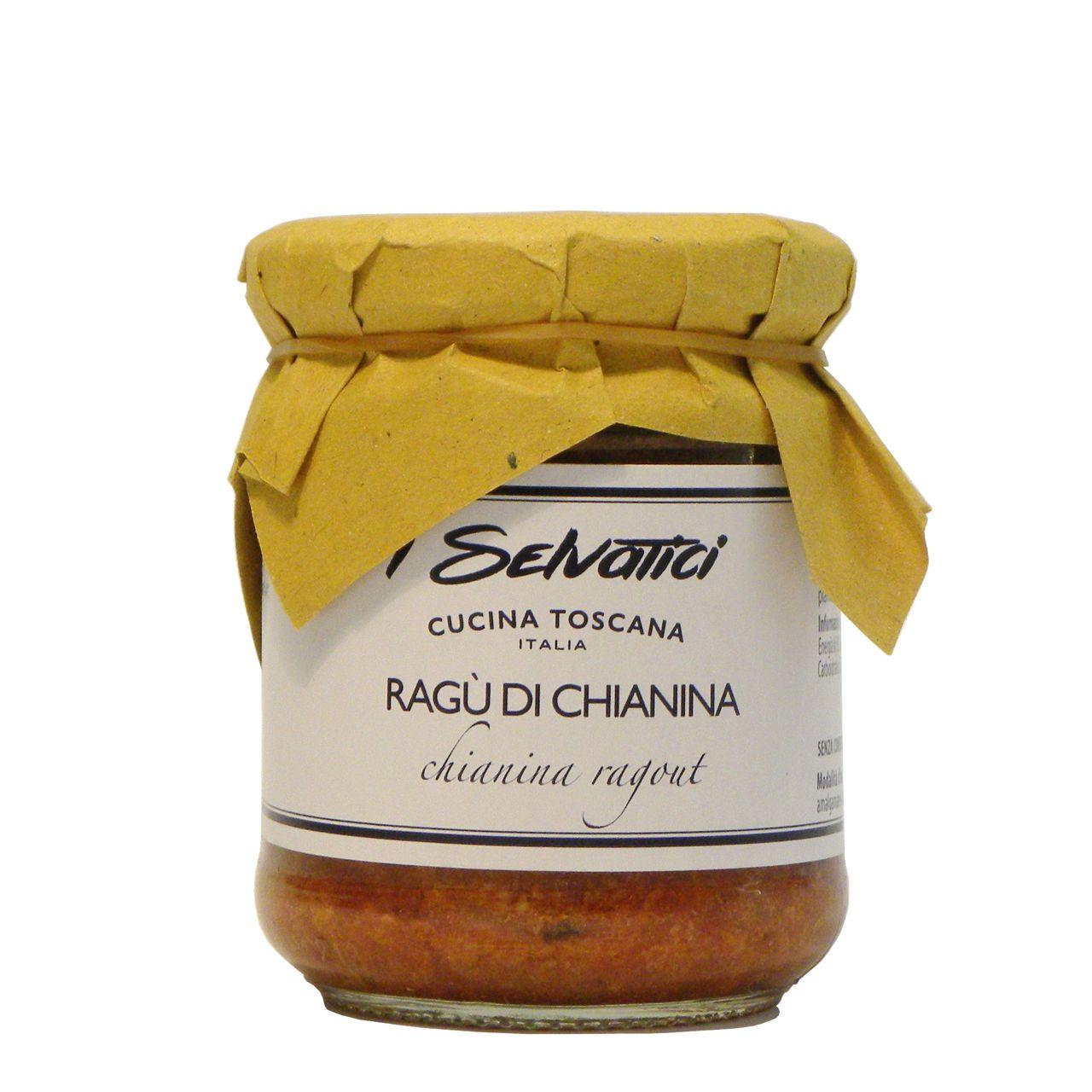 Ragù Chianina – Chianina ragù – Gustorotondo – Italian Food Boutique