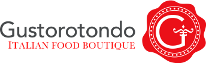 Logo Gustorotondo Italian food boutique