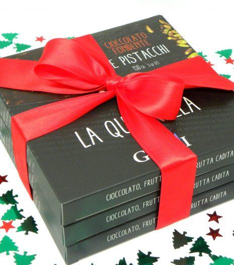 Confezione regalo 3 Quadrella Giraudi - Gift Box 3 Quadrella Giraudi - Gustorotondo - Italian food boutique