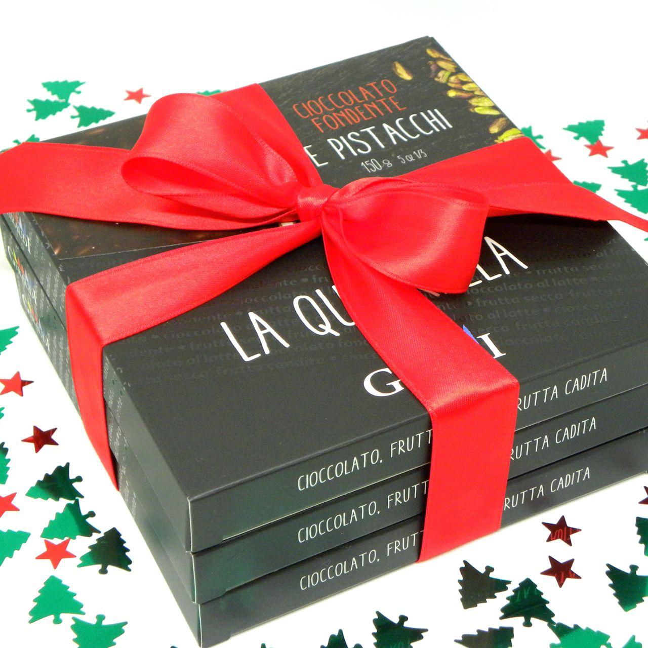 Confezione regalo 3 Quadrella Giraudi – Gift Box 3 Quadrella Giraudi – Gustorotondo – Italian food boutique