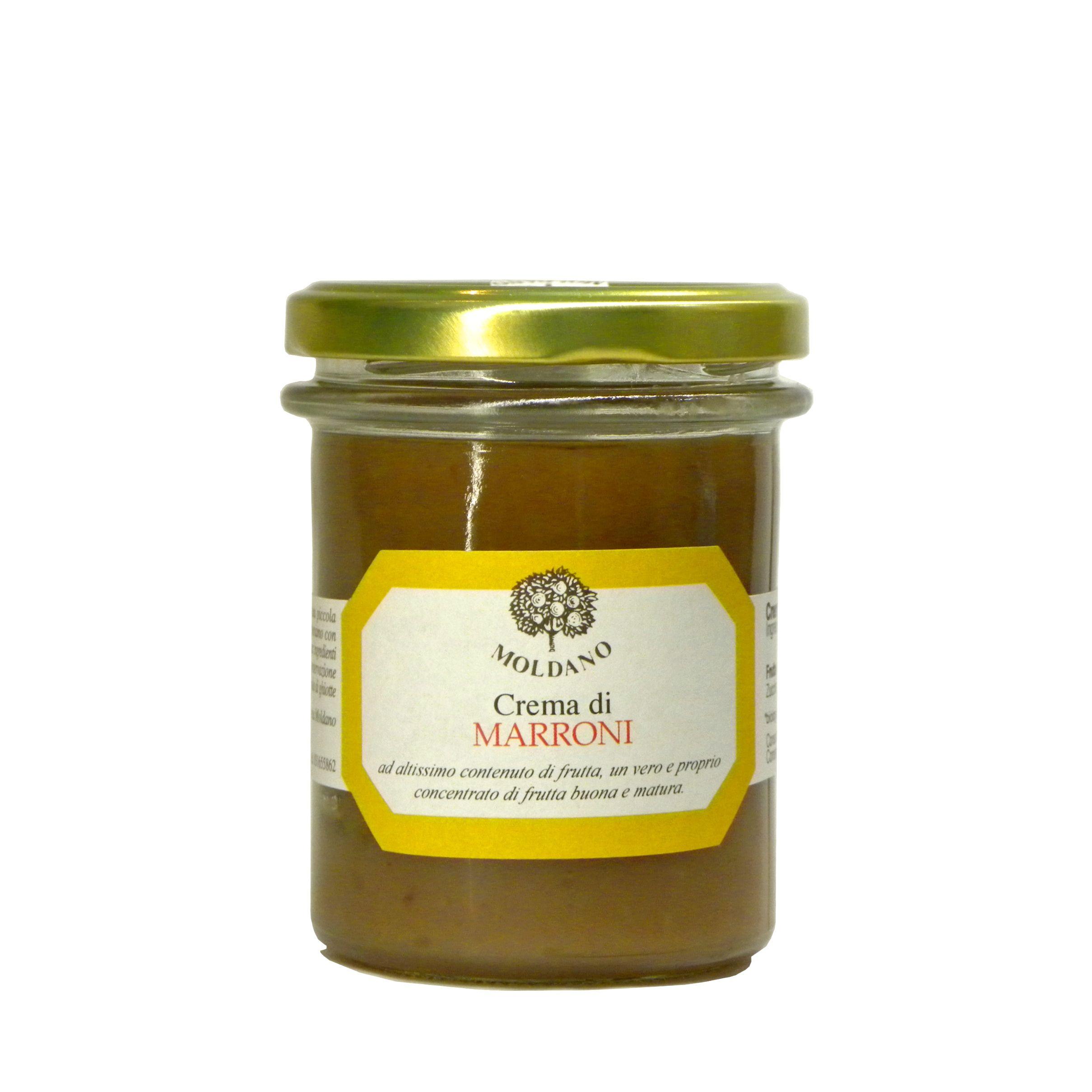 Crema di Marroni Fattoria Moldano – Chestnut Cream – Gustorotondo – Italian Food Boutique