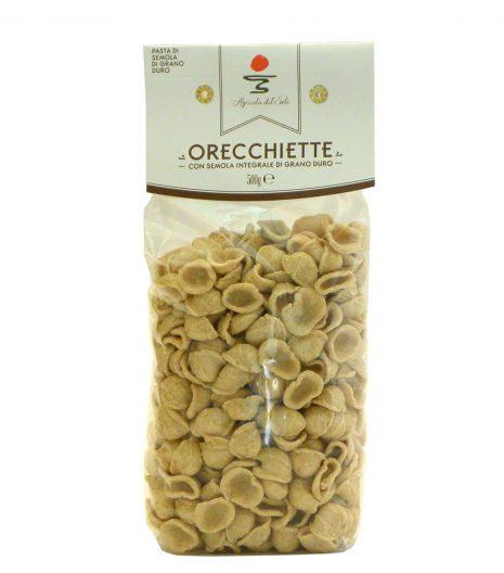 Orecchiette integrali Agricola del Sole - Wholemeal orecchiette Agricola del Sole - Gustorotondo - Italian Food Boutique