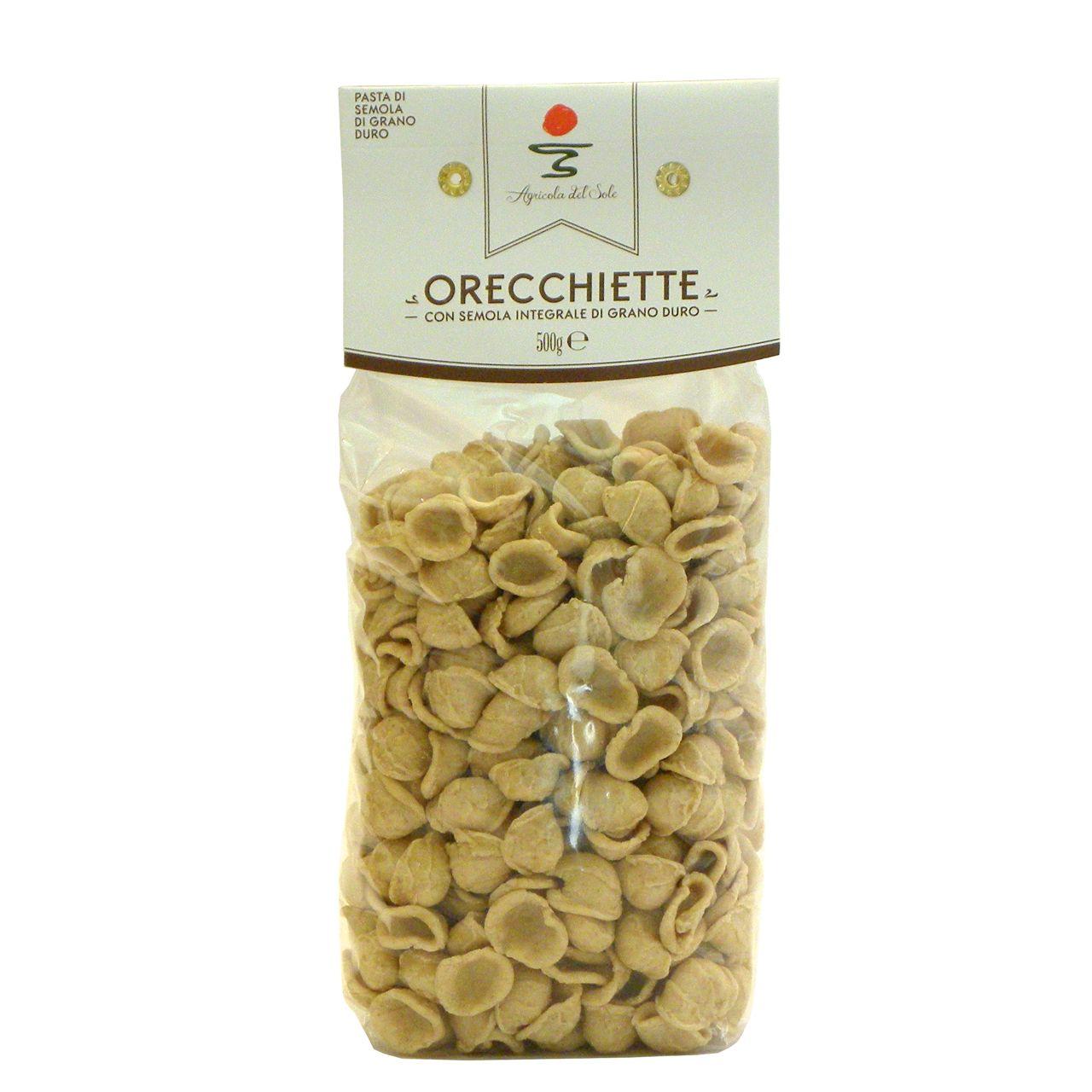 Orecchiette integrali Agricola del Sole – Wholemeal orecchiette Agricola del Sole – Gustorotondo – Italian Food Boutique