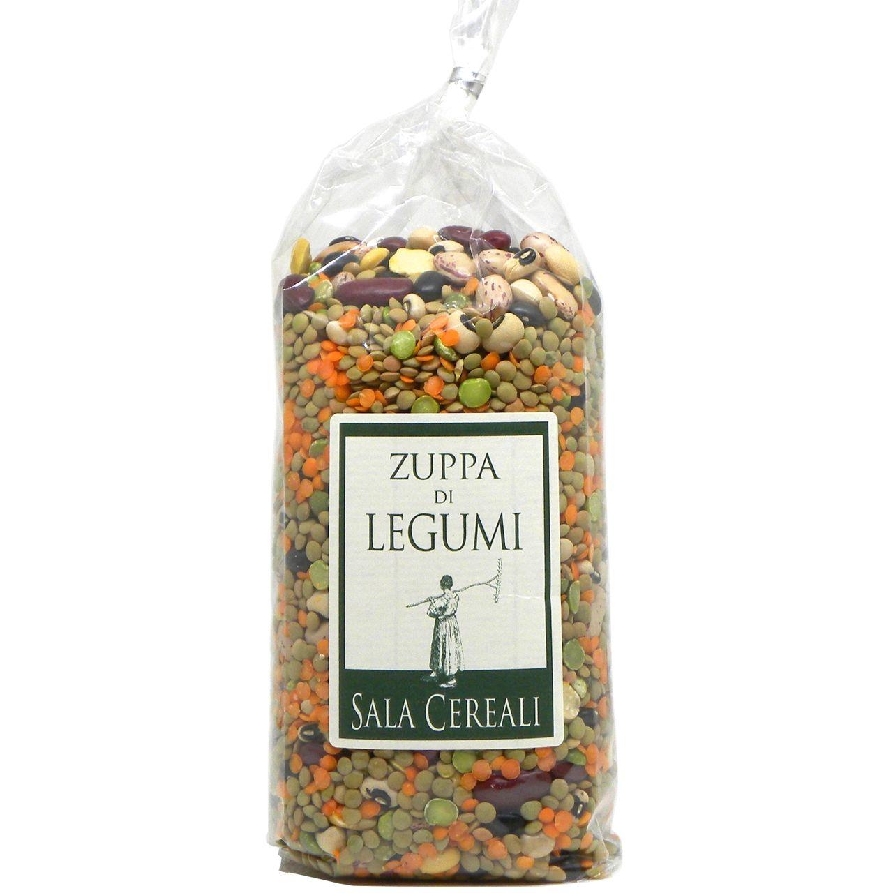 Zuppa di legumi Sala Cereali – Sala Cereali Legumes Soup – Gustorotondo – Italian food boutique