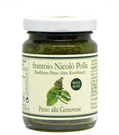 Pesto alla genovese senza aglio Frantoio Polla Nicolò - Frantoio Polla Nicolò Pesto alla genovese without garlic - Gustorotondo - Italian food boutique