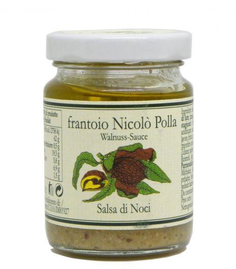 Salsa di noci in olio extravergine Frantoio Polla Nicolò - Frantoio Polla Nicolò Walnut Sauce in Extra Virgin Olive Oil - Gustorotondo - Italian food boutique