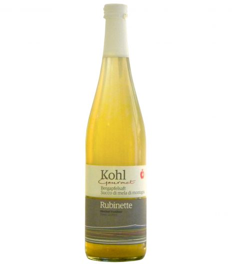 Succo di mele Rubinette Kohl - Kohl Rubinette apple juice - Gustorotondo - Italian food boutique
