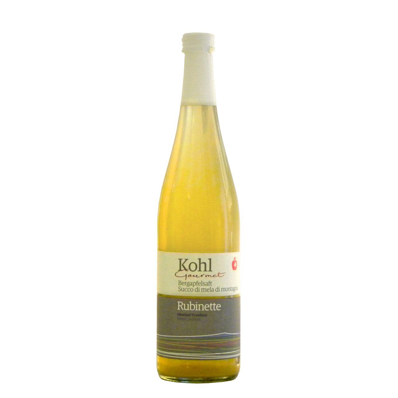 Succo di mele Rubinette Kohl – Kohl Rubinette apple juice – Gustorotondo – Italian food boutique