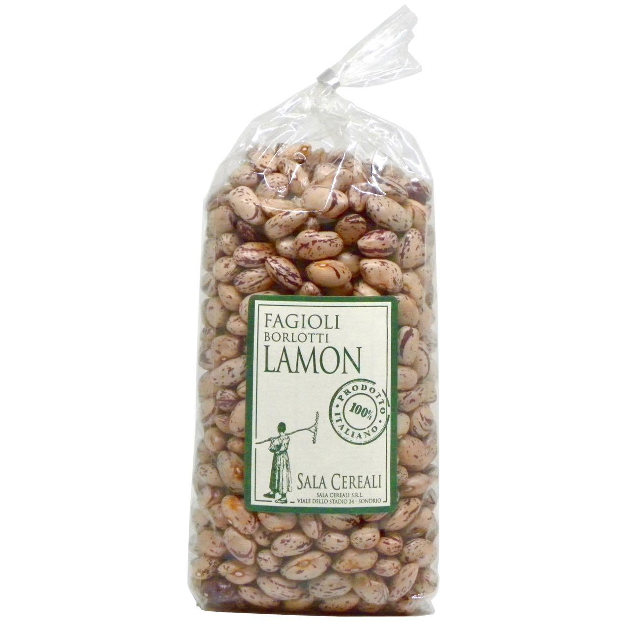Fagioli borlotti Lamon italiani Sala Cereali – Sala Cereali Italian Borlotti Lamon Beans – Gustorotondo – Italian food boutique