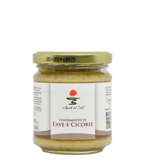 Condimento di fave e cicorie Agricola del Sole - Agricola del Sole broad beans and chicory condiment - Gustorotondo - Italian Food Boutique