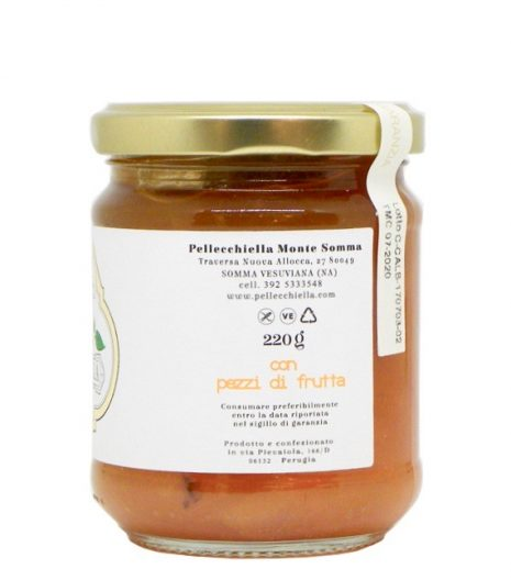 Confettura Albicocca Pellecchiella Monte Somma acquista online - Pellecchiella Monte Apricot Jam buy online - Gustorotondo - Italian Food Boutique