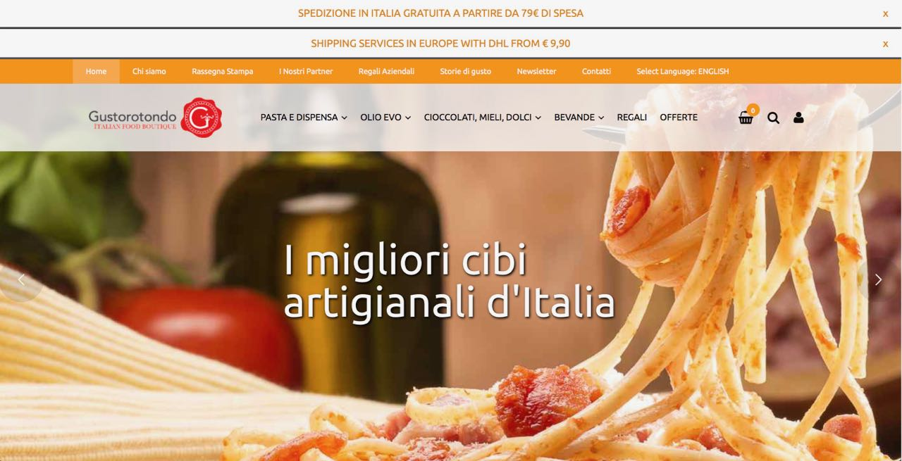 Spesa online di cibi artigianali - Migliori cibi artigianali d'Italia - negozio online - Best Italian artisan food - shop online - Gustorotondo - Italian food boutique