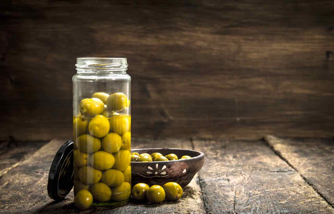 olive in salamoia - olives in brine - Gustorotondo - Italian food boutique - spesa online - online food shopping