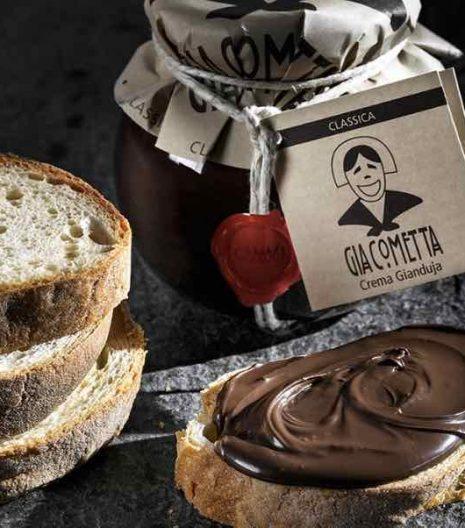 Giraudi Giacometta classica - crema cioccolato - hazelnuts cream - Gustorotondo - Italian fine food online - prodotti tipici italiani online
