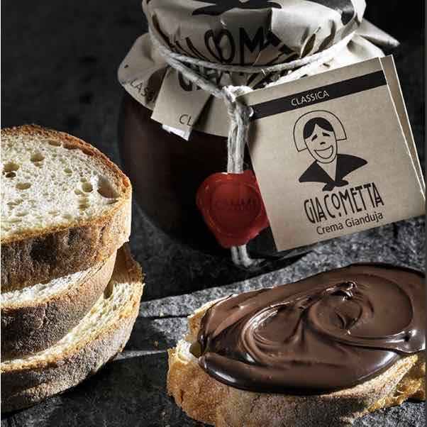 Giraudi Giacometta classica – crema cioccolato – hazelnuts cream – Gustorotondo – Italian fine food online – prodotti tipici italiani online