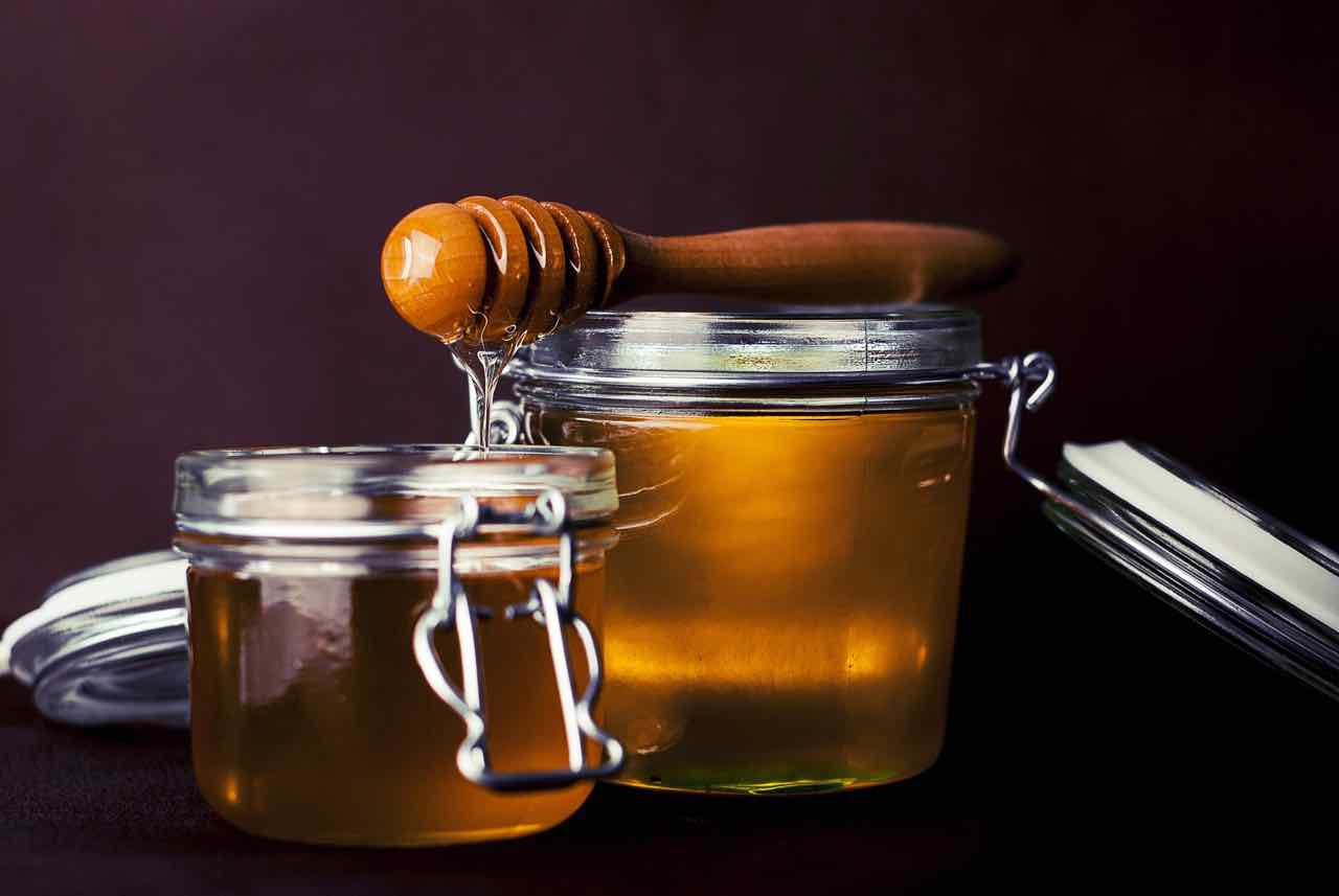 Miele Barattoli cucchiaio da miele - Honey jars dipper - Gustorotondo - Italian food boutique - spesa online - online food shopping