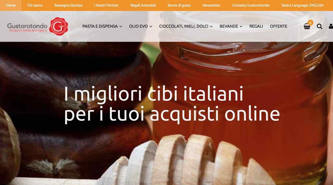 Spesa online - food online shopping - Gustorotondo Italian food boutique - I migliori cibi artigianali d'Italia - Best Italian food online
