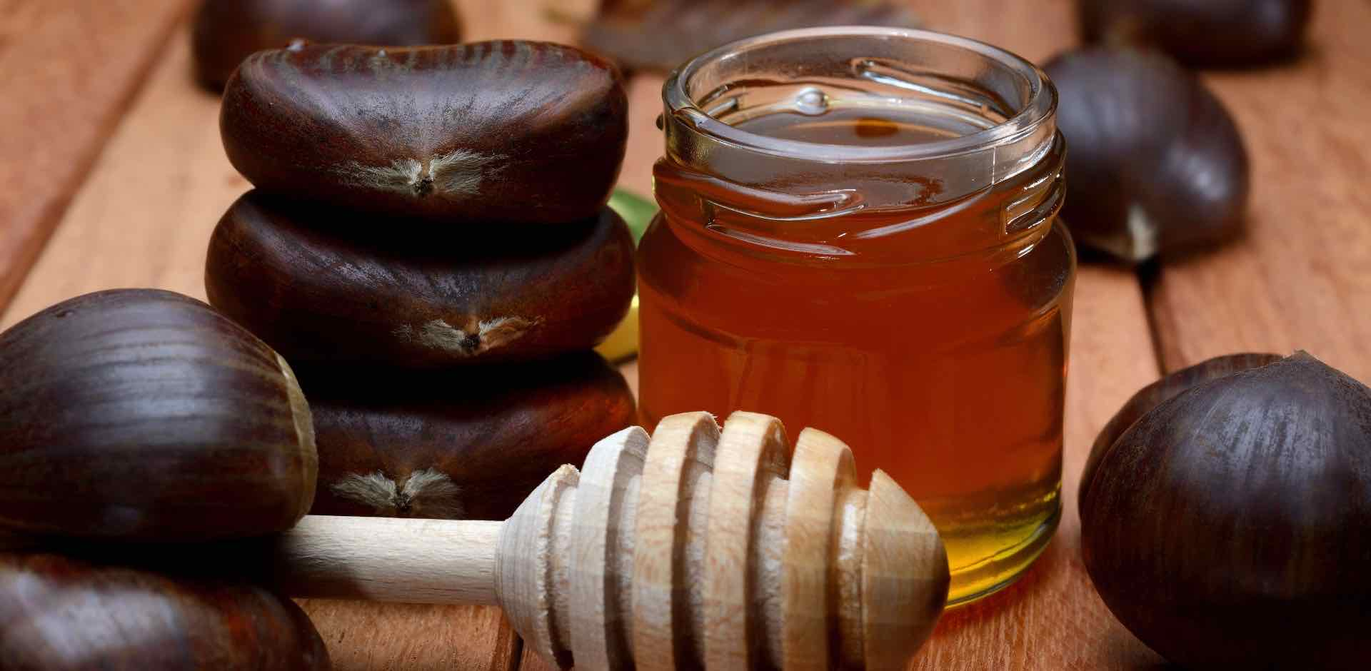 Miele castagno - chestnut honey - acquista online - Italian online food shop - Gustorotondo - Italian online food boutique