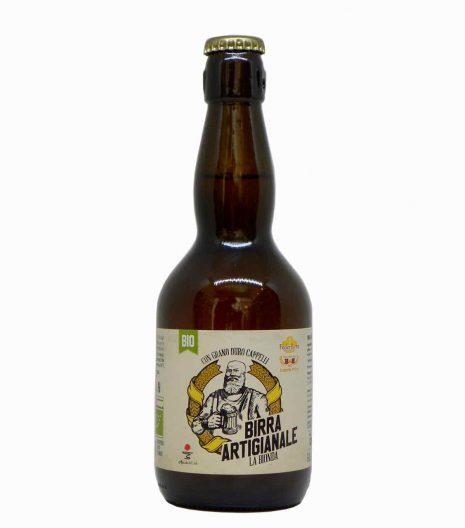 birra bionda artigianale fronte - artisan beer - Agricola del Sole - Gustorotondo Italian food boutique - I migliori cibi online - Best Italian food online - spesa online