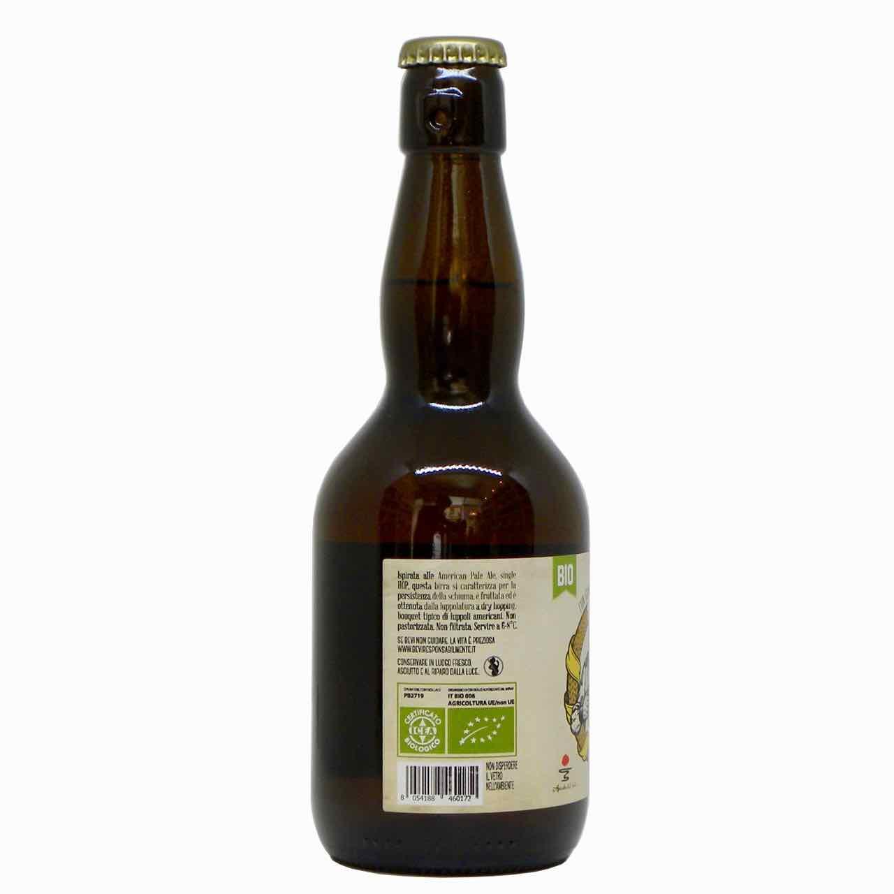 birra bionda artigianale lato – artisan beer – Agricola del Sole – Gustorotondo Italian food boutique – I migliori cibi online – Best Italian food online – spesa online