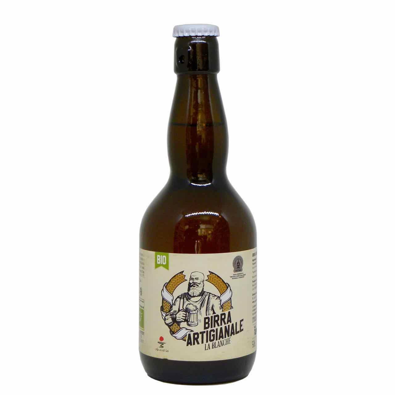 birra blanche artigianale fronte – artisan blanche beer – Agricola del Sole – Gustorotondo Italian food boutique – I migliori cibi online – Best Italian food online – spesa online