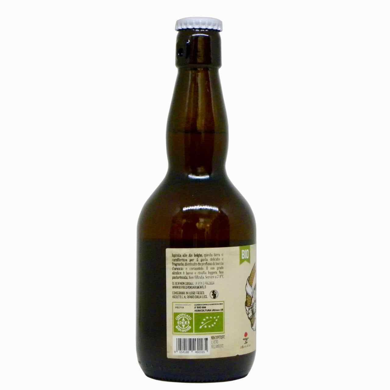 birra blanche artigianale lato – artisan blanche beer – Agricola del Sole – Gustorotondo Italian food boutique – I migliori cibi online – Best Italian food online – spesa online