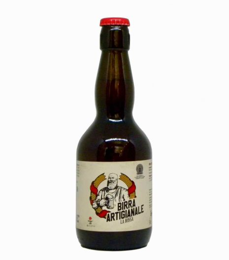 birra rossa artigianale fronte - artisan red beer - Agricola del Sole - Gustorotondo Italian food boutique - I migliori cibi online - Best Italian food online - spesa online