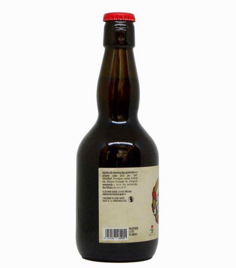birra rossa artigianale lato- artisan red beer - Agricola del Sole - Gustorotondo Italian food boutique - I migliori cibi online - Best Italian food online - spesa online