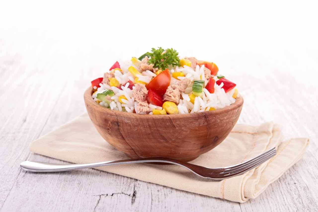Riso in insalata - rice salad - Gustorotondo Italian food boutique - I migliori cibi online - Best Italian food online - spesa online