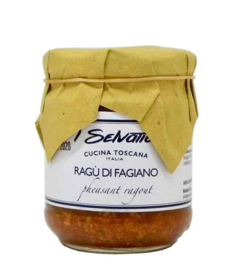 Ragu fagiano I Selvatici fronte - pheasant ragu side - Gustorotondo Italian food boutique - I migliori cibi online - Best Italian foods online - spesa online