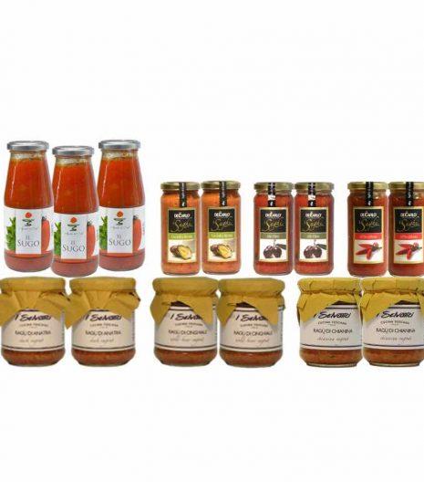 Ragu e sughi - pasta sauces and ragu - Gustorotondo Italian food boutique - I migliori cibi online - Best Italian foods online - spesa online