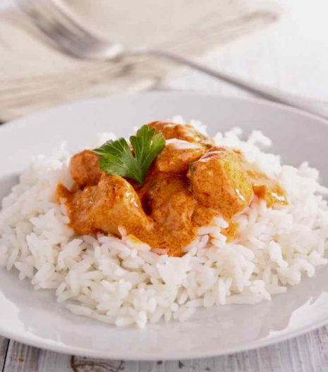 Riso Basmati e pollo al Curry - Basmati rice with curry chicken - Gustorotondo Italian food boutique - I migliori cibi online - Best Italian foods online - spesa online