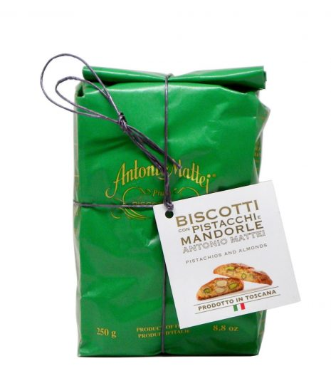 Biscotti Mattei mandorle pistacchi - Mattei Biscuits almonds pistachios - Gustorotondo Italian food boutique - I migliori cibi online - Best Italian foods online - spesa online