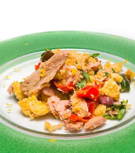 Delfino Battista Caponata di tonno con filetti di tonno Top - Delfino Battista tuna caponata with Top tuna fillets - Gustorotondo Italian food boutique - I migliori cibi online - Best Italian foods online - spesa online